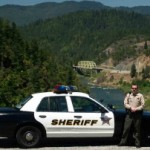 Josephine County Sheriff's officer -- Photo courtesy Josephine County